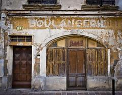 Boulangerie (SBA73) Tags: carcassona carcassonne frança france francia shop botiga comerç abandonat tancat closed fermé antic old vintage derelict abandoned