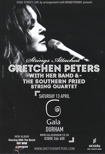 Gretchen Peters fan photo