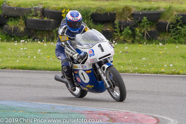 Steve Parrish Parade Lap at Pembrey