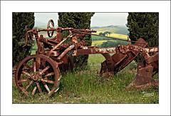 L'Aratro (4) (Jambo Jambo) Tags: aratro plow cipressi cypress campagna countryside panorama landscape sanquiricodorcia pienza siena toscana tuscany italia italy sonydscrx10m4 jambojambo montalcino