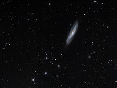 Messier 98 (drdavies07) Tags: messier98 m98 virgocluster virgogalaxycluster galaxy qsi rc8