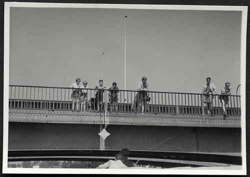Archiv T71 Rheinbrücke in Stein am Rhein,  1950er