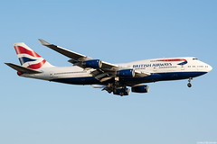 G-CIVF (Andras Regos) Tags: aviation aircraft plane fly airport lhr egll heathrow approach landing spotter spotting ba britishairways boeing 747 b744 747400 jumbo jumbojet