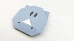 Rinoceronte de papel (Manualidades Play) Tags: papiroflexia manualidades niños animales rinoceronte