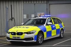 PO16 HBE (S11 AUN) Tags: lancashire constabulary bmw 330d 3series xdrive estate touring osu operational support unit anpr police traffic car rpu roads policing 999 emergency vehicle po16hbe