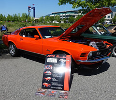 1970 Ford Mustang Mach1 (D70) Tags: gmva 35thannual springshow harboursideplace northvancouver britishcolumbia canada 1970 ford mustang mach1