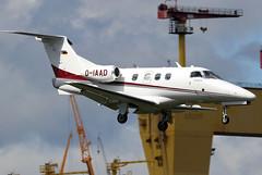 D-IAAD (GH@BHD) Tags: diaad embraer emb emb500 phenom phenom100 arcusair bhd egac belfastcityairport bizjet corporate executive aircraft aviation vip