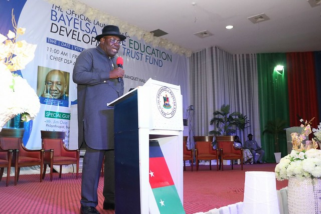 HSDickson - Official Launching Of Bayelsa State Education Development Trust Fund. 24th May 2019