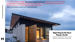 We Offer An Affordable Roof Replacement Cost Austin (capitalsiding) Tags: roof replacement cost