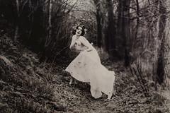 (Nynewe) Tags: nynewe fairy tale fae romanticism slovak vintage melancholy melancholia michaela knizova forest mysterious girl female feminine tisovec white dress sentimental sentimentality