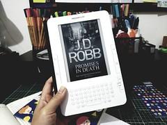 Promises in Death (J. D. Robb) (Luma Kimura) Tags: lumakimura livros books kindle