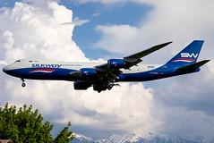 VQ-BBM Silkway B748F (twomphotos) Tags: plane spotting ala uaaa rwy05r evening afternoon silkway cargo boeing b748 b748f freight