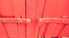 Olde Barn Door (Mr. Happy Face - Peace :)) Tags: red ranch barn fishcreek historic art2019