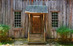 Possum Trot Church (davidwilliamreed) Tags: old weathered wood siding door windows patina textures rustic dwwg weatherbeaten