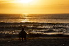sunrise at the beach, Nags Head, NC (bhermann.hamburg) Tags: strand beach sonnenaufgang sunrise orange sand water wasser
