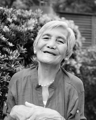 DSC_1073 (su4jsus) Tags: people blackandwhite elderly asia taiwan taipei spontaneous portraits