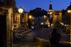 Sarlat la-canéda, France (geraldineh.dutilly) Tags: cathedral dusk sarlat dordogne france twilight