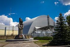 Sarcophagus (Gryshchenko) Tags: pripyat kievoblast ukraine chernobyl radioactive nucleardisaster 1986 evaculation chernobylnuclear chernobylnucleardisaster chernobynuclearpowerplant udssr cccphistory чернобыль припять катастрофы catastrophe атомнаяавврия hbochernobyl zone thezone exclusionzone contaminacion sarcophagus reactorbuilding chernobylnuclearpowerplant chernobylexclusionzone nuclearpowerplant