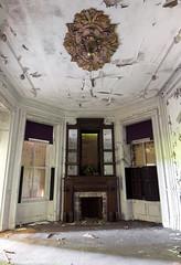 Sunburst (Baldran) Tags: abandoned vacant ruin rural decay derelict mansion sanitarium urban exploration