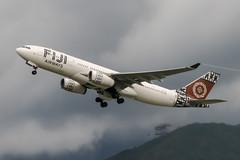DQ-FJU (PlanePixNase) Tags: hkg vhhh hongkong cheplapkok airport aircraft planespotting airbus fiji 330200 330 a330
