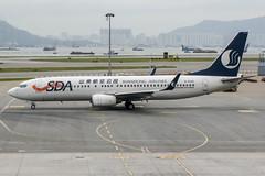 B-5542 (PlanePixNase) Tags: hkg vhhh hongkong cheplapkok airport aircraft planespotting boeing 737800 b738