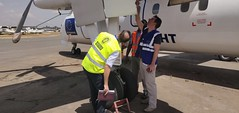 ECHO flight in action (EU Civil Protection and Humanitarian Aid Operation) Tags: echoflight plane airport aiddelivery transport logistics africa europeanunion europeancommission dgecho