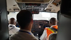 ECHO flight in action (EU Civil Protection and Humanitarian Aid Operation) Tags: echoflight plane airport aiddelivery transport logistics africa cockpit pilot europeanunion europeancommission dgecho