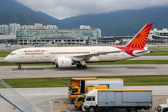VT-ANT (PlanePixNase) Tags: hkg vhhh hongkong cheplapkok airport aircraft planespotting boeing airindia 7878 787 b787