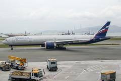 VP-BPG (PlanePixNase) Tags: hkg vhhh hongkong cheplapkok airport aircraft planespotting boeing aeroflot 777 777300 b773