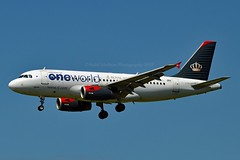 """""""Ajloun / عجلون"""" Royal Jordanian Airlines JY-AYP Airbus A319-132 cn/3832 Painted in """"Oneworld"""" special colours @ EDDF / FRA 25-05-2019 (Nabil Molinari Photography) Tags: ajlounعجلون royal jordanian airlines jyayp airbus a319132 cn3832 painted oneworld special colours eddf fra 25052019"""