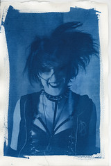 Cyanotype003.jpg (Iain Compton) Tags: contactprint cyanotype monochrome paperprint alternativeprocess