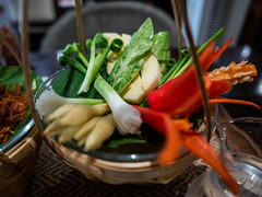 Khao Chae condiment (Thanathip Moolvong) Tags: khao chae condiment leica dlux 109 food