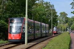 26.05.2019 (XI); Oude tram en railvervanging (chriswesterduin) Tags: htm tram strassenbahn avenio siemens