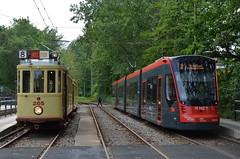 26.05.2019 (IV); Oude tram en railvervanging (chriswesterduin) Tags: htm tram strassenbahn hovm avenio siemens