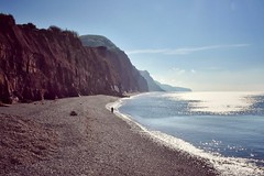 Jurassic coast (Nige H (Thanks for 20m views)) Tags: nature landscape seascape sea beach coast coastline cliffs jurassic jurassiccoast devon england sidmouth