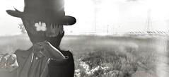 Tell me you like the way it hurts (Ghoulina Waffle) Tags: sl slart slphotography secondlife sldestinations sltravels sljourney virtualworld slevents anthem sanarae eclipse hotdog contraption axix catwabentbox photoscapex blackandwhite shadows
