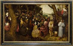 DSC7320 Pieter Brueghel, el Viejo - La predicación de San Juan Bautista, 1566, Museo de Bellas Artes, Budapest, Hungría (Ramón Muñoz - Fotografía) Tags: museo de bellas artes budapest museum fine arts hungría pintura escultura pieter brueghel el viejo