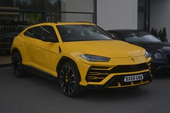 Lamborghini Urus (CA Photography2012) Tags: cars sports yellow 4x4 super giallo suv lamborghini supercar sportscar urus lambo motorvehicles italiancars europeancars bx68gww ca car photography italian automobile automotive exotic vehicle spotting carphotos carphotographs carsfromitaly lamborghiniurus photosofcars photographsofcars lambourus