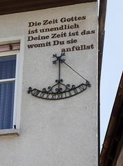 Mittelfranken - Herzogenaurach (Helmut44) Tags: bayern franken mittelfranken landkreiserlangen herzogenaurach altstadt sonnenuhr sundial
