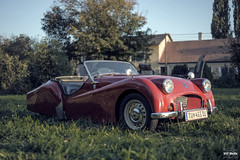 Triumph TR2 (SKF-Media) Tags: classiccars classic cars automotiveportrait skfmedia