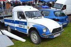 Citroën Acadiane Pick-Up (Monde-Auto Passion Photos) Tags: voiture vehicule auto automobile citroën acadiane pickup bleu blue blanc white ancienne classique rare rareté collection rassemblement france courtenay