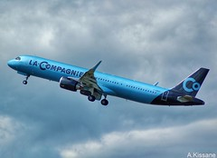 LA COMPAGNIE A321Neo F-HBUZ (Adrian.Kissane) Tags: flying shannonairport jet sky outdoors outside plane aeroplane aircraft 2052019 8866 a321 fhbuz shannon lacompagnie airliner