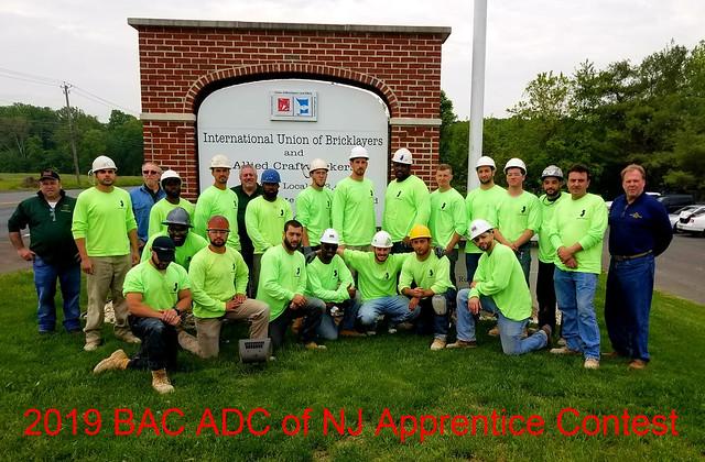 2019 BAC ADC of NJ Apprentice Contest
