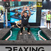 ReaxRaft floating board demonstration at FIBO 2019 in Cologne, Germany