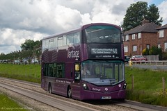 First BW65DBY (Mike McNiven) Tags: first manchester bolton depot leigh busstation salelane guidedbusway busway wright eclipse gemini3 hybrid dieselelectric ecohybrid