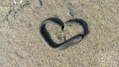 Ein Herz für Dänemark (_Pixelbär_) Tags: urlaub vacation dänemark denmark strand beach ostsee balticsea northsea nordsee wattenmeer mudflat