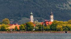 Lindau (Bodensee) (wb.fotografie) Tags: deutschland österreich bodensee insel lindau kirchen pfänder bregenz berg hausberg münster
