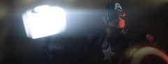 Worthy (tomtommilton) Tags: toy toyphotography actionfigure macro cinematic movie practicaleffects practicallighting lensflare glow marvel captainamerica avengers endgame superhero disney