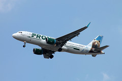 N227FR A-320-214 Frontier Airlines (ChrisChen76) Tags: charlestonintairport a320214 frontierairlines usa