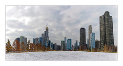 Panoramique de Chicago (Jean-Louis DUMAS) Tags: chicago architecture architecte architectural architecturale building tower tour apple hdr sony panoramique panoramic panorama city cityscape